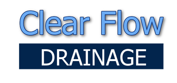 Clear Flow Drains logo