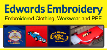 Edwards Embroidery logo