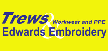Trews Workwear & Edwards Embroidery Logo